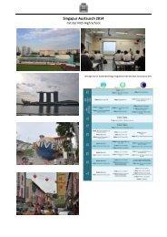 Singapur Austausch 2014 - Felix-Klein-Gymnasium