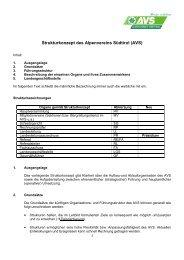 Strukturkonzept - genehmigt von der 106 HV am 11 05 2013