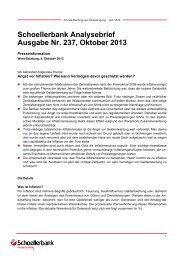 Schoellerbank Analysebrief Nr. 237 (pdf, 162 KByte)