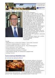 DEHOGA Spezial - Ausgabe Februar 2013 Inhalt