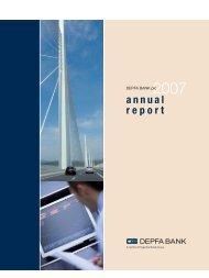 Annual Report 2007 of DEPFA Bank - Hypo Real Estate