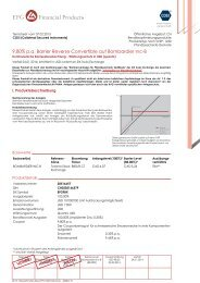 Factsheet Valor 20516657 Termsheet vom 07. 02. 2013 COSI