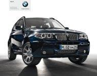 BMW X3 Edition Exclusive Edition Lifestyle ... - BMW Deutschland
