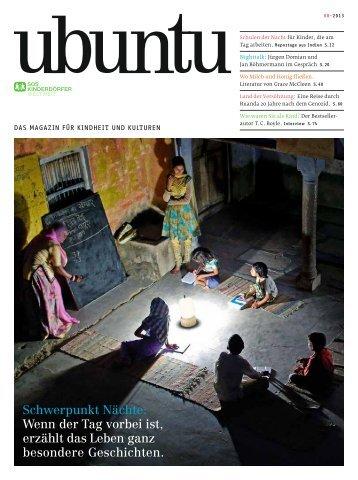ubuntu - Das Magazin für Kindheit und Kulturen, Ausgabe 8