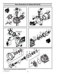 Parts Illustrations for Model 9910-D160