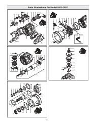Parts Illustrations for Model 9910-D813