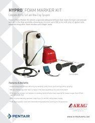 Hypro's Foam Marker Kit