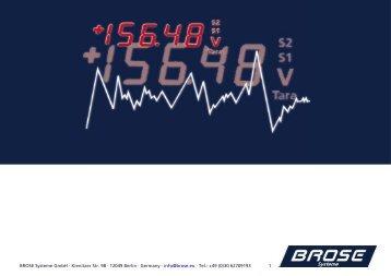 Seit 2000 - BROSE Systeme Gmbh