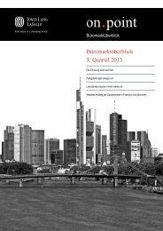 Büromarktüberblick 3. Quartal 2013 - Düsseldorf Realestate