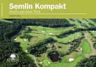Semlin Kompakt 2013 - Golfresort Semlin