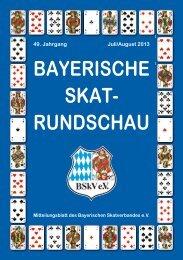 BAYERISCHE SKAT- RUNDSCHAU - DSkV