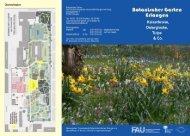 Infoblatt Zwiebelpflanzen - Botanischer Garten Erlangen