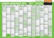 Der Highlight-Kalender 2014