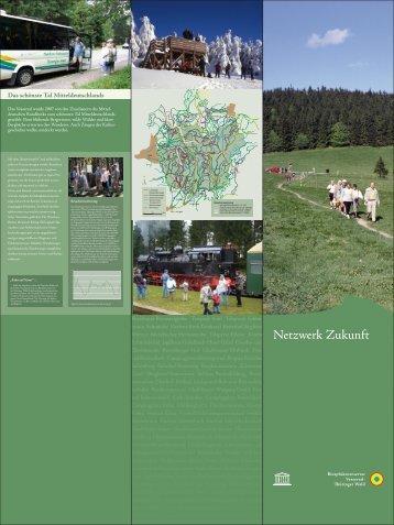 Stele 3 - Biosphärenreservat Vessertal-Thüringer Wald