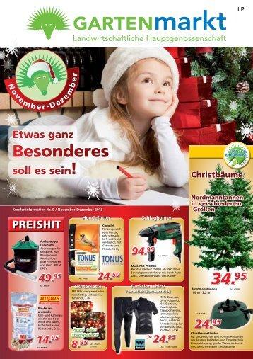 November-Dezember 2013 - Gartenmarkt