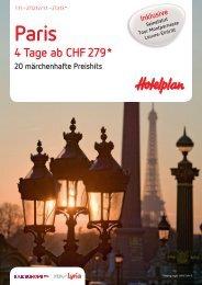 4 Tage ab CHF 279 *