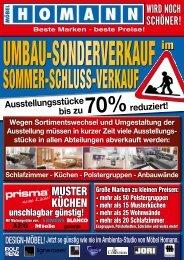 WIRD NOCH SCHÖNER! - Möbel Homann