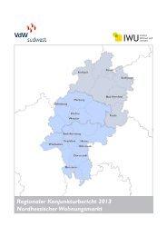Regionaler Konjunkturbericht 2013 Nordhessischer Wohnungsmarkt