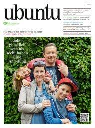 ubuntu - Das Magazin für Kindheit und Kulturen, Ausgabe 7