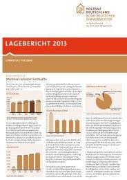 lAgebericht 2013 - Holzbau Deutschland