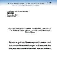 Berührungslose Messung von Phasen- und ... - HZDR