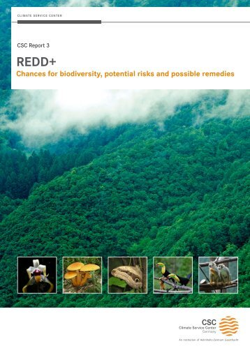Chances for biodiversity, potential risks and possible remedies