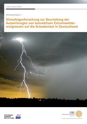 Klimafolgenforschung zur Beurteilung der Auswirkungen von ...
