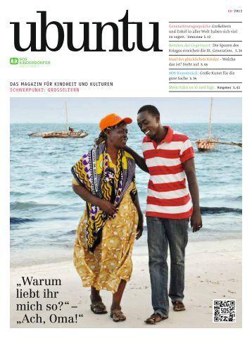 ubuntu - Das Magazin für Kindheit und Kulturen, Ausgabe 6