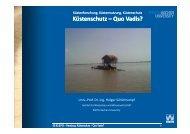 Küstenschutz – Quo Vadis?