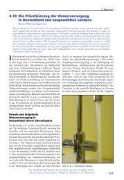 4.18 Die Privatisierung der Wasserversorgung in Deutschland und ...