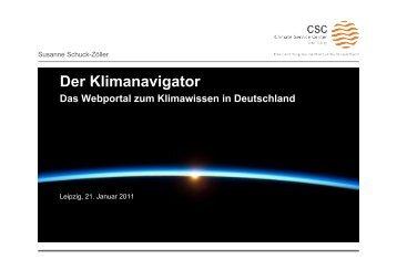 Der Klimanavigator - Helmholtz-Zentrum Geesthacht