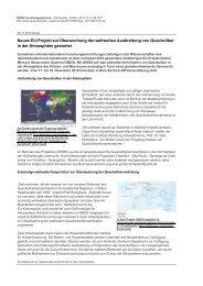 Neues EU-Projekt zur Überwachung der weltweiten Ausbreitung ...