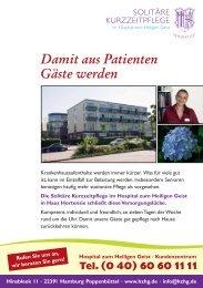 Preisliste als PDF - Hospital zum Heiligen Geist