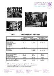 2012 »Wohnen mit Service«