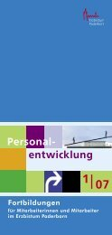 Personal- entwicklung
