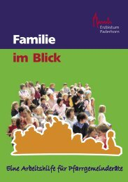 Familie im Blick - Pastorale Informationen