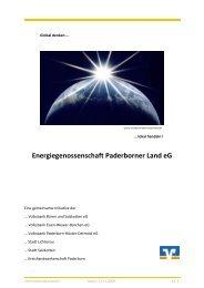Energiegenossenschaft Paderborner Land eG