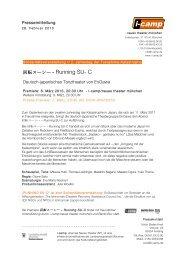Running SU- C Deutsch-japanisches Tanztheater von EnGawa