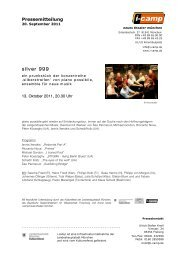 silver 999 - Neues Theater München