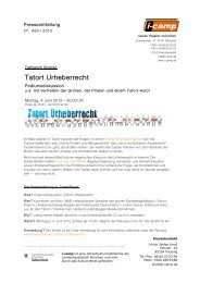 Tatort Urheberrecht - Neues Theater München