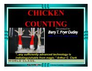CHICKEN COUNTING - I-Cube