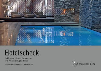 Hotelscheck Sonderedition - Connexservice.com - connexservice