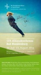 Konferenz 2014 - Postkarte