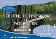 GesundheitsFORuM Patienten - Internationale Gesellschaft für ...
