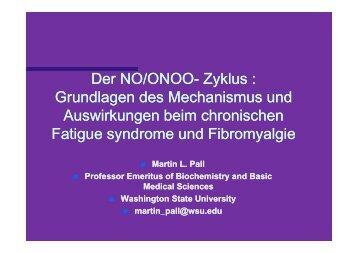 Der NO/ONOO Der NO/ONOO- Zyklus : Grundlagen des ...