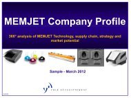 MEMJET Company Profile - I-Micronews