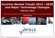 Inverter Market Trends 2013 - 2020 and Major ... - I-Micronews