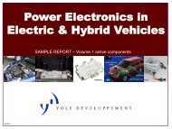 Power Electronics In Electric & Hybrid Vehicles - I-Micronews