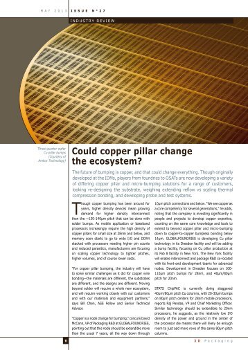 Could copper pillar change the ecosystem? - I-Micronews