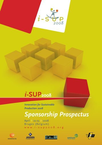 download the sponsorship prospectus - Innovation for Sustainable ...